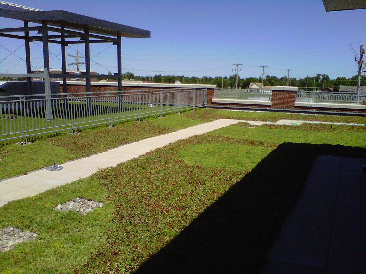 greensburg kansas green roof by liveroof